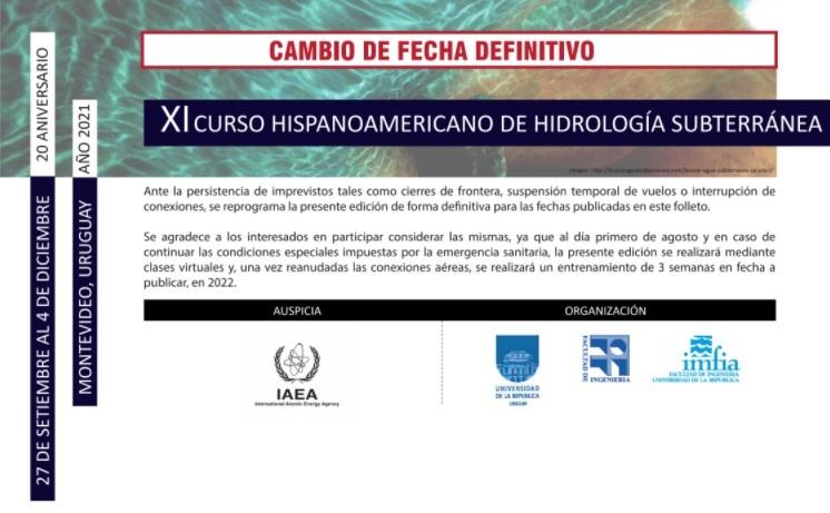 Curso Hispanoamericano de Hidrología Subterranea