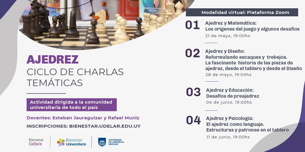 Ciclo de charlas temáticas sobre Ajedrez